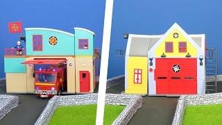 FEUERWEHRMANN SAM deutsch: Neue Feuerwehr Station für Sam´s Beste Rettungsaktionen Feuerwehrmann Sam