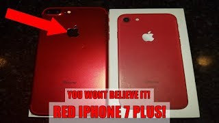 RED IPHONE 7 PLUS FOUND!!! New iPhone FOUND Dumpster Diving @ Apple Store!