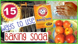 BAKING SODA WILL CHANGE YOUR LIFE: 15 WAYS I CLEAN WITH BAKING SODA | SENSATIONAL FINDS