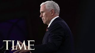 Mike Pence Addresses Olympics And North Korea At CPAC 2018:
