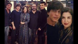 SRK's Diwali bash: KJo, Farah mark their presence