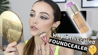 IS THIS ANY GOOD? TARTE FOUNDCEALER FOUNDATION *wear test*