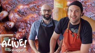 Brad and Babish Make Kombucha Miso BBQ Sauce | It