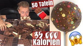 GRÖßTER SCHOKO - LUTSCHER der Welt - 35.000 kcal 😲  | Julienco