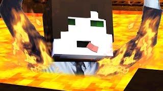 ICH WURDE VON LAVA ÜBERSCHWEMMT! ☆ Minecraft: Minefighter