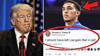 Why Donald Trump Said He Should Have Left Liangelo Ball In Jail   Did Lavar Go To Far?