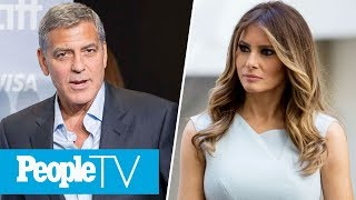 George Clooney Slams Harvey Weinstein, Melania Trump Calls Out Ivana Trump
