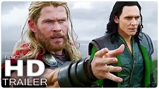 THOR RAGNAROK: Alle Clips + Trailer (German Deutsch) 2017