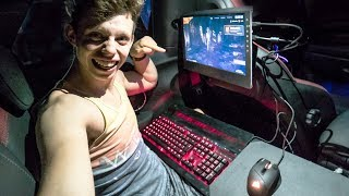 $4000 GAMING SETUP INSTALLED IN MY CAR *IT WORKS*