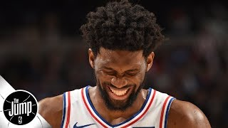 Joel Embiid does not want to be called fragile - Rachel Nichols   The Jump