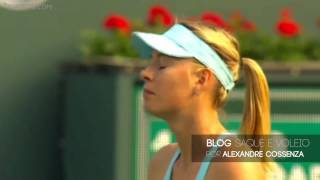 Sharapova is robbed of a challenge by Mariana Alves - Indian Wells 2014
