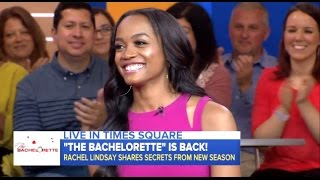 Rachel Lindsay - New Bachelorette Is Engaged - GMA