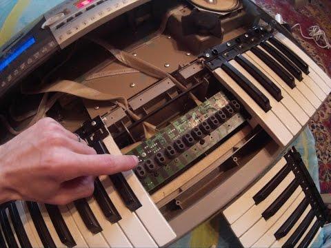 Разборка синтезатора