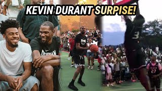 Kevin Durant Pulled Up To DYCKMAN! Shuts Down NYC With SURPRISE VISIT 🔥