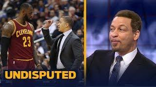 Chris Broussard reacts to LeBron