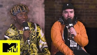KSI & Randolph Talk 'New Age', Rematch With Logan Paul & Challenges Jake Paul | MTV Music