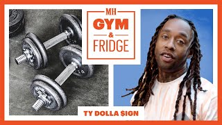 Ty Dolla $ign Shows His Home Fridge & Gym | Gym and Fridge | Men's Health