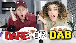 DARE OR DAB with DAVID ALVAREZ!!! *EXTREMELY SPICY*
