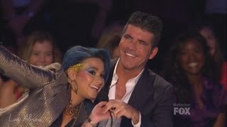 Demi Lovato and Simon Cowell - Funniest moments on The X Factor - Season 3 (7/8) LEGENDADO