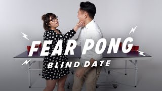 Blind Dates Play Fear Pong (Bjork vs. Edward) | Fear Pong | Cut