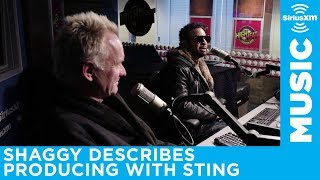 Shaggy explains how he produced Sting for their new album