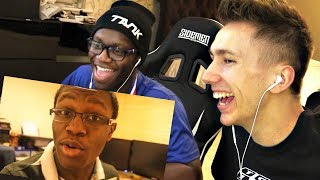 REACTING TO OLD VIDEOS WITH DEJI!