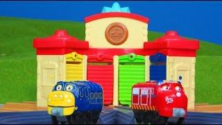 CHUGGINGTON die Loks sind los deutsch: Roundhouse LOKSCHUPPEN Wilson Koko Bastian | Züge Kinderfilm