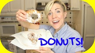 MY DRUNK KITCHEN: Super Easy Donuts!