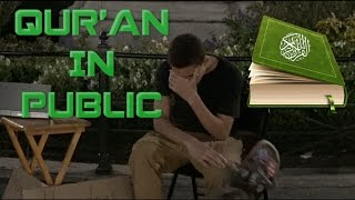 Strangers listen to Quran in public (Social Experiment)