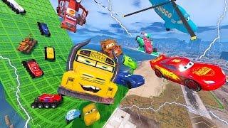 Cars 3 Colors Jackson Storm Cruz Ramirez Monster Truck Lightning McQueen Tow Mater Mack Truck Dinoco