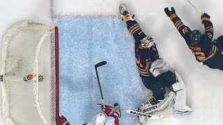Johnson makes desperation game-saving stop