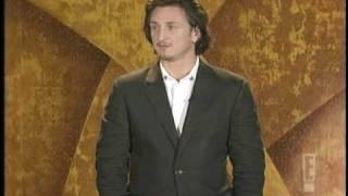Sean Penn Presenting Award to Clint Eastwood at the Critics