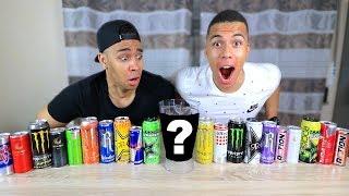 20 ENERGY DRINKS ZUSAMMEN MIXEN UND TRINKEN !!! | PrankBrosTV