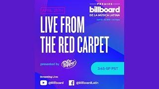 Billboard Latin Music Awards Red Carpet Live Stream