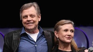 Mark Hamill Honors Carrie Fisher With a Touching Tribute: