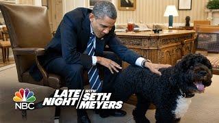 Seth Puts A Camera On Obama's Dog Bo