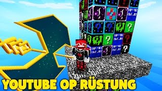 YOUTUBE GAMING OP RÜSTUNG | LUCKY BLOCKS TOWER