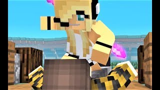 NEW Minecraft Hacker 6 - Psycho Girl VS Hacker! Minecraft Animations and Music Video Series