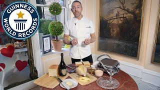 How to make the most expensive sandwich - Guinness World Records