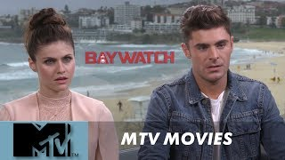Zac Efron on that awks dick scene l MTV Movies