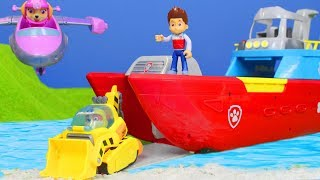 PAW PATROL PUPS: Neue Rettungsaktion Folgen mit Feuerwehrmann Marshall   Paw Patrol Episode deutsch