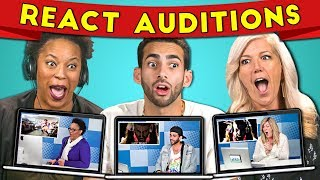 Adults React to Their Auditions For Adults React