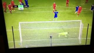 Mignolet Penalty Safe • Liverpool vs Chelsea