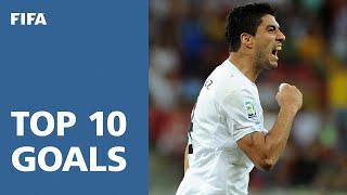 TOP 10 GOALS: FIFA Confederations Cup Brazil 2013 (OFFICIAL)