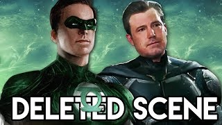 Justice League Green Lantern DELETED SCENE