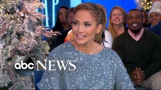 Jennifer Lopez dishes on her secret pre-show ritual