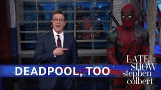 Deadpool Takes Over Stephen