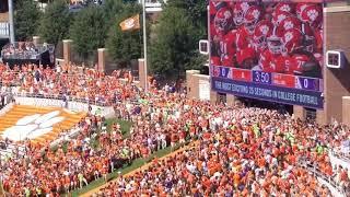 TigerNet: Clemson runs down the hill against BC
