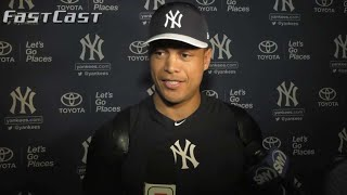 MLB.com FastCast: Stanton arrives at camp - 2/16/18