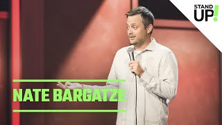 Comedian Nate Bargatze Is Cool With Fighting McDonald